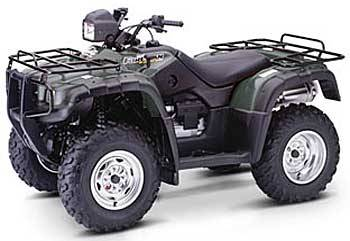 2004 honda fourtrax foreman rubicon trx500fa for sale. Black Bedroom Furniture Sets. Home Design Ideas