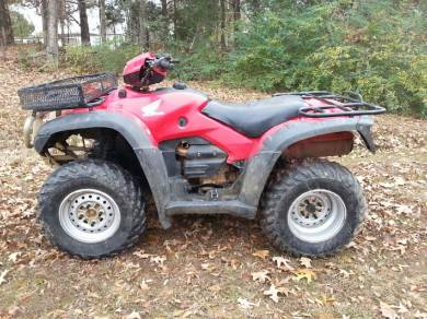 2008 honda fourtrax foreman for sale used atv classifieds. Black Bedroom Furniture Sets. Home Design Ideas
