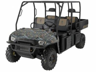 2009 polaris ranger crew browning le for sale used atv classifieds. Black Bedroom Furniture Sets. Home Design Ideas