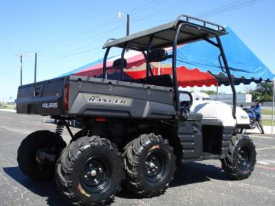 2009 polaris ranger 6x6 for sale used atv classifieds. Black Bedroom Furniture Sets. Home Design Ideas