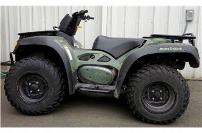 2005 john deere trail buck 500 for sale used atv classifieds. Black Bedroom Furniture Sets. Home Design Ideas