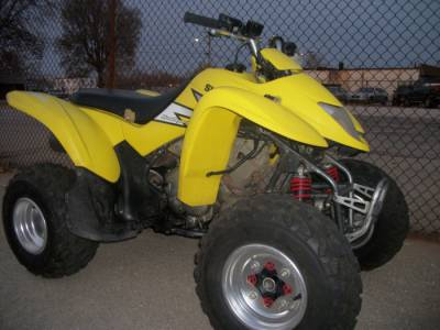 Motorcycle Tire Sizes >> 2004 SUZUKI LTZ250 For Sale : Used ATV Classifieds