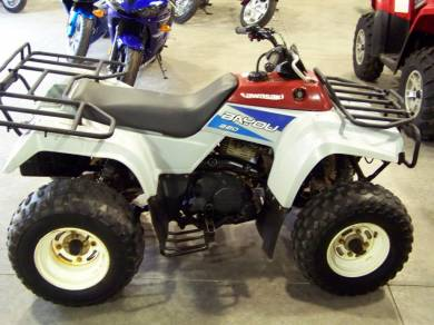 1992 kawasaki bayou 220 for sale : used atv classifieds