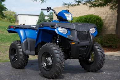 2013 Polaris Sportsman 400 H.O. Blue Fire For Sale : Used ATV ...