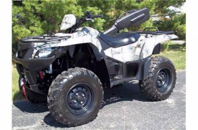 Suzuki Kingquad 450cc Axi 4x4 2009 Pictures to pin on Pinterest