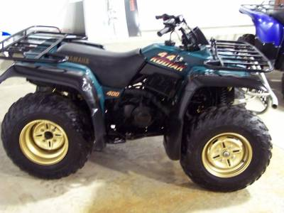 1995 yamaha kodiak 400 4x4 for sale used atv classifieds