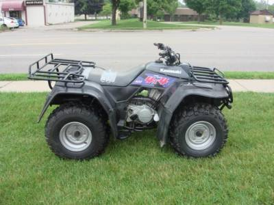 1995 kawasaki 1995 kawasaki bayou 400 for sale : used atv classifieds