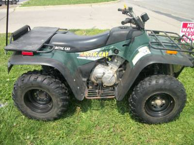 2001 Arctic Cat 400 4x4 For Sale Used Atv Classifieds