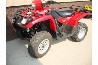 2002 Suzuki Vinson 500 Automatic For Sale : Used ATV Clifieds