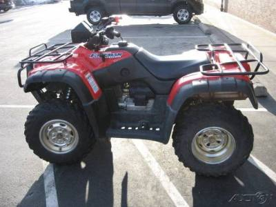 2004 honda fourtrax foreman rubicon 500 cc for sale used. Black Bedroom Furniture Sets. Home Design Ideas