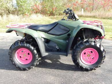 Used 2011 honda fourtrax rancher 4x4 es trx420fe for sale used atv