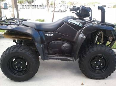 2007 Suzuki KingQuad 700 4x4 For Sale : Used ATV Classifieds
