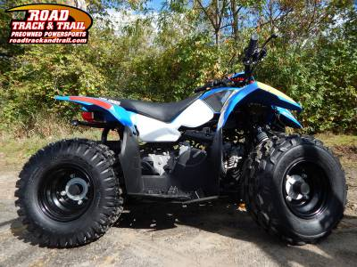 polaris outlaw 50 voodoo blue sold big bend wi us