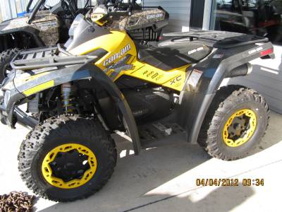 2011 can am outlander 800 xxc for sale used atv classifieds. Black Bedroom Furniture Sets. Home Design Ideas