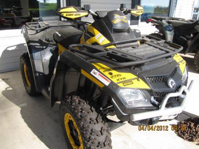 2011 Can-Am Outlander 800 Xxc For Sale : Used ATV Classifieds