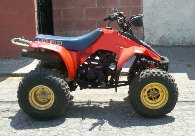 Used Suzuki ATV For Sale - Suzuki ATV Clifieds