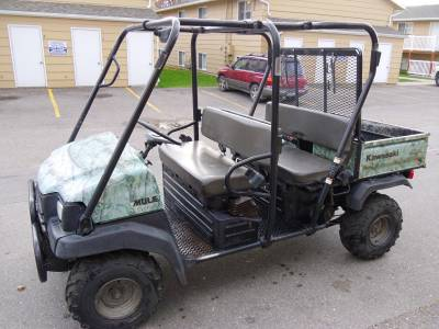 2006 Kawasaki Mule 3010 Trans For Sale Used Atv Classifieds