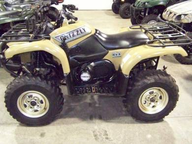 2002 yamaha grizzly 660 for sale used atv classifieds. Black Bedroom Furniture Sets. Home Design Ideas