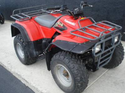 1998 Kawasaki BAYOU 300 For Sale : Used ATV Clifieds