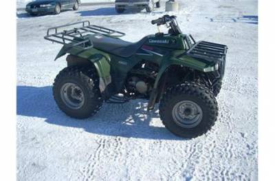 2002 kawasaki bayou 220 for sale used atv classifieds. Black Bedroom Furniture Sets. Home Design Ideas
