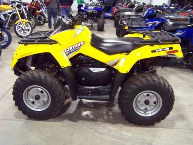 2007 can am outlander 800 h o efi for sale used atv classifieds. Black Bedroom Furniture Sets. Home Design Ideas
