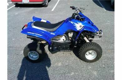 2007 yamaha raptor 50 for sale used atv classifieds. Black Bedroom Furniture Sets. Home Design Ideas