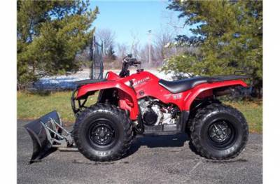 Yamaha Bruin 350 >> 2005 Yamaha Bruin 350 4x4 w/ winch & plow For Sale : Used ...