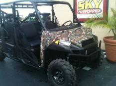 2014 Polaris Ranger Crew 900 EPS Polaris Pursuit Camo For Sale : Used