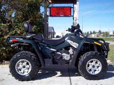 2007 can am outlander max 800 xt for sale used atv classifieds. Black Bedroom Furniture Sets. Home Design Ideas