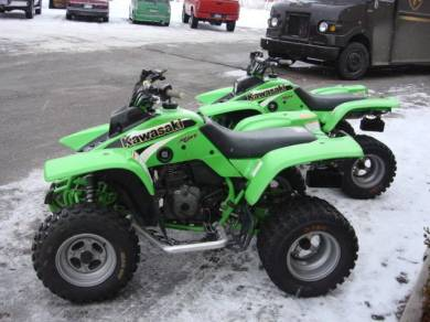 2001 Kawasaki Mojave 250 For Sale : Used ATV Clifieds