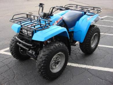 quad yamaha big bear 350 4x4