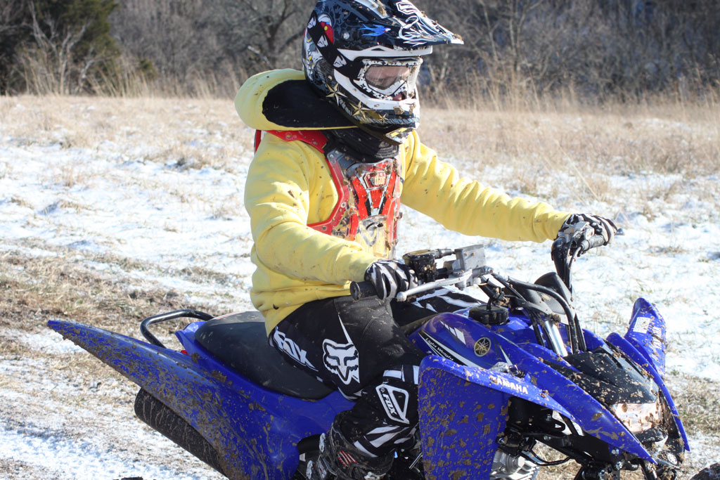 Slideshow for 2011 yamaha raptor 125 trail review for Atv yamaha raptor 125cc