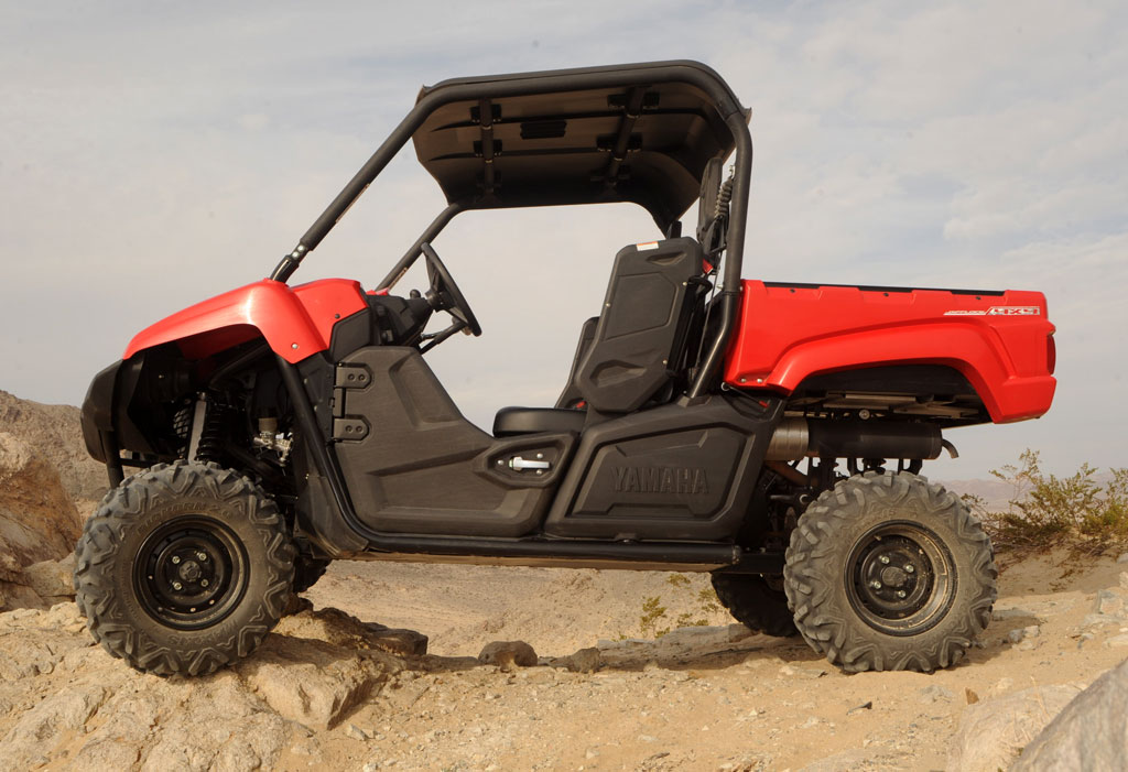 Slideshow for 2014 yamaha viking desert review for Yamaha 700 viking