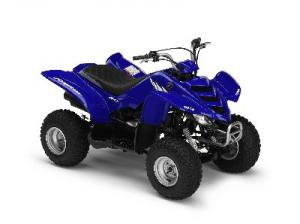 Among the choices in the youth ATV class is the Yamaha Raptor 80.