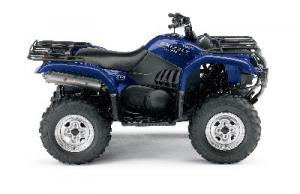 The Yamaha Grizzly sport-utility ATV is among the favorite machines of mud boggers.
