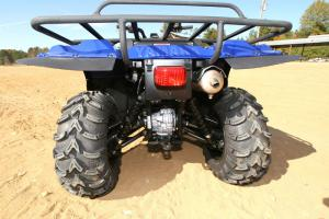 A whopping 10.5 inches of ground clearance keeps the Big Bear clear of on-trail obstacles.