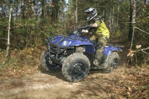 ITP's MudLite tires were made specifically for the Big Bear.