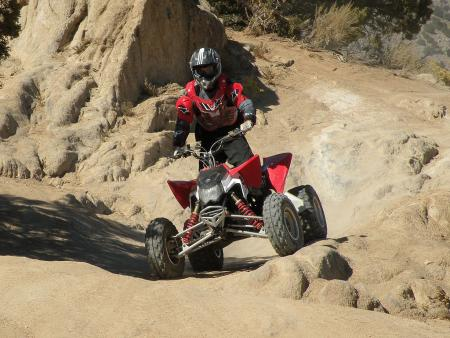 The Outlaw shines on rocky and off-camber trails.