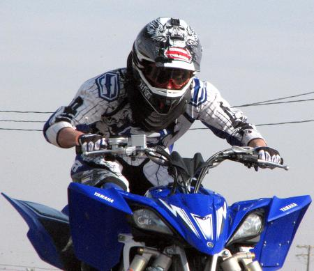 We tried out the Shift Faction gear, Agent helmet and Combat boots at the YFZ450R intro.