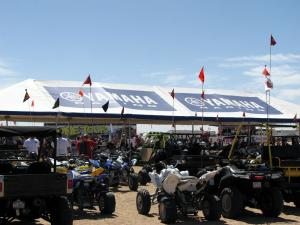 The Dune Tour compound was THE place to be for Saturday�s events.