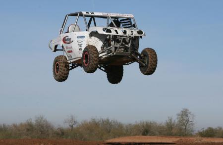 It didn�t take long before I was testing out our new XMF suspension kit with it�s perfectly tuned Walker Evans shocks.