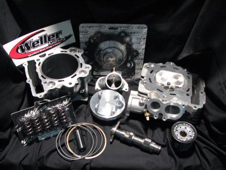 We decided to go with our Weller Racing 720cc stroker motor kit for its combination of power and reliability.