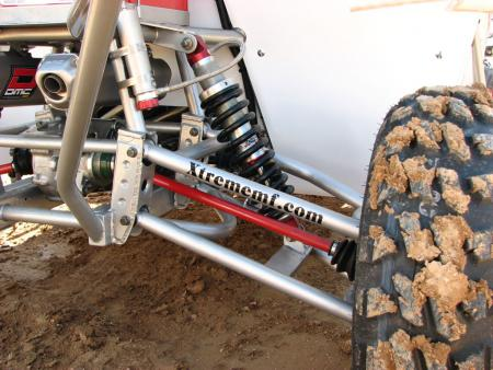 Xtreme Machine and Fabrication's long-travel kit with Walker Evans shocks made for a smooth and comfortable ride.