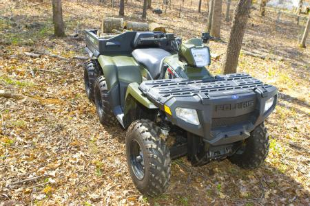 Wed be hard pressed to come up a better ATV for getting work done around the property.