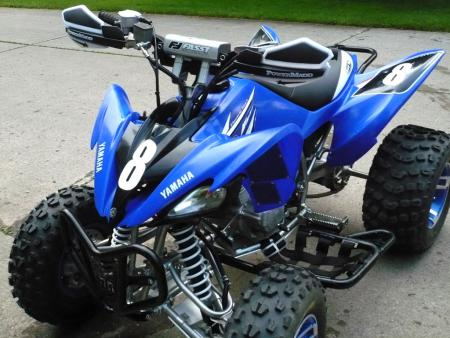 ATV.com's Yamaha Raptor 250 project is coming along. We wrap things up next week with new plastics and a one of a kind graphics package.