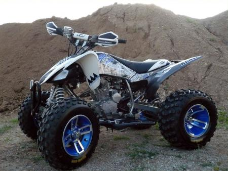 After: ATV.com's Project Yamaha Raptor 250.