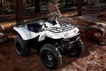 Kawasaki�s entry-level 4x4 surprised us with its ability to keep up with the big boys.