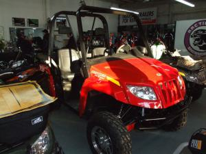Arctic Cat's Prowler, the longest, widest and tallest of the UTV options studied, is available in three models for 2008.