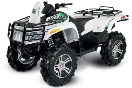 The Mud Pro 1000 features a massive 58� stretched chassis.