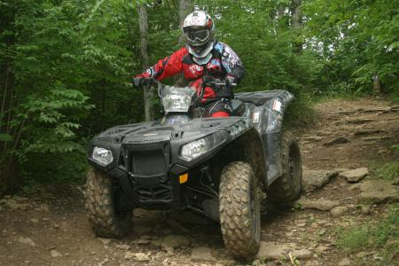 Polaris stepped up to the plate with big power, plush suspension, great ergos and electronic power steering.